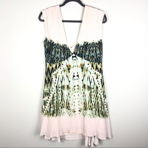 Free People Theodora Baby Doll Dress Large